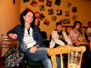 Radka na přehlídce OSTRAVSKÉ BUCHARY na rozpravě s porotou