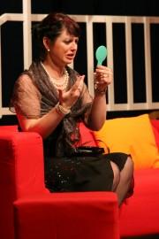 Radka jako Claire Ganzová ve hře ŘEČI - r. 2008