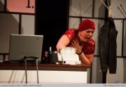 Radka v roli Madame Carnot ve hře UDĚLÁTE MNĚ TO ZNOVA? - r. 2010