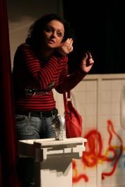 Radka v roli Jituš Kowalské ve hře /Ž/HAVÍRNA - r. 2007