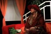 Zuzka v roli Karamely Cusackové ve hře ŘEČI - r. 2009