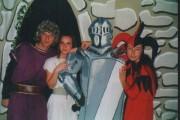 Petr jako Kníže ve hře ČERNÝ DEN NA TOLŠTEJNĚ - r. 2000