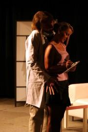 Martina v roli Claudine ve hře UDĚLÁTE MNĚ TO ZNOVA?  - r. 2010