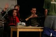 Silva jako učitelka tance Ingrid ve hře /Ž/HAVÍRNA  /r. 2007/