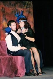Silva v roli Diany ve hře ŽEBRÁCKÁ OPERA /r. 2003/