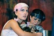 Martina v roli Polly Peachumové ve hře ŽEBRÁCKÁ OPERA -   r. 2003