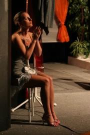 Martina v roli Cassie Cooperové ve hře ŘEČI - r. 2008