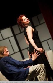 Miluška v roli Madame X ve hře Uděláte mně to znova? - r. 2010