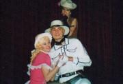 Miluška jako sladká Winifred ve hře LIMONÁDOVÝ JOE - r. 2001