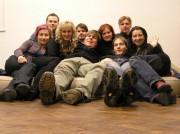 Konečně taky jednou Radek v popředí :):):)Radek na skupinove fotce.