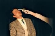 Radim v roli Macheatha ve hře Žebrácká opera - r. 2003