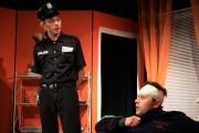 Lukáš jako Policista Welch ve hře ŘEČI - r. 2008