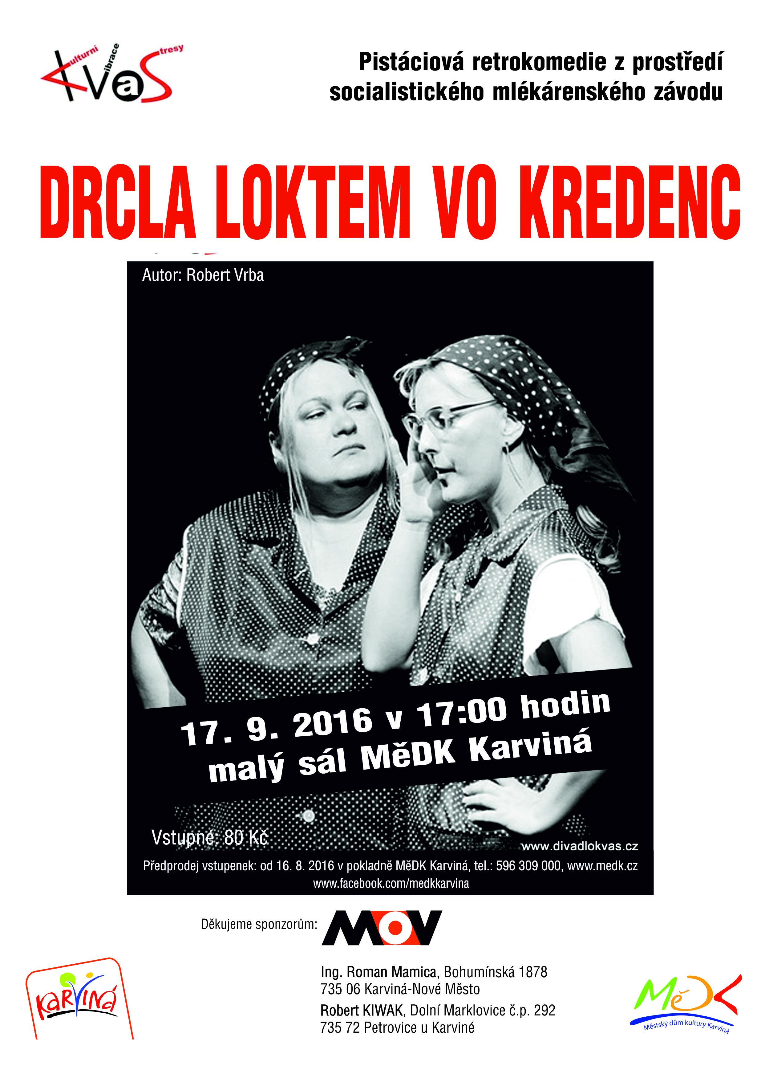 Drcla loktem 17.9.2016