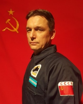 Aleš Vaštík jako poručík Vladimír Sergejovič ve hře Projekt N.A.Ď.E.Ž.D.A.
